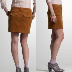 J. Crew Vintage Corduroy Co-Ed Mini Skirt